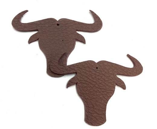 KC-Key Cord Buffalo Heads 7cm - Pink