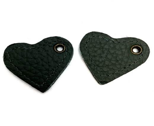 KC-Key Cord Heart Shape 8cm green