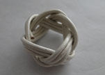 Leather-Ring-White