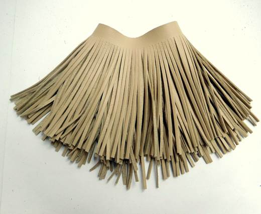 Fringes-8cms-Light Beige