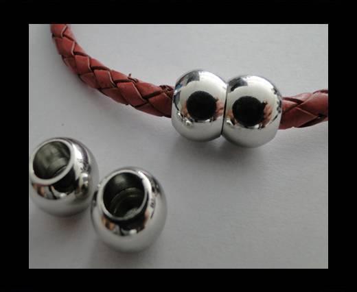 zamak round magnetic clasps MGL-36-6mm