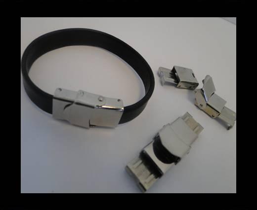 Zamak magnetic clasp MGL-43