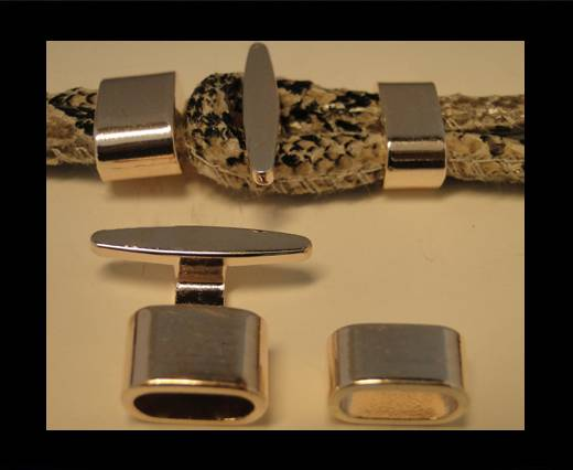 Buy Zamak magnetic clasp ZAML-12-Rose Gold at wholesale prices