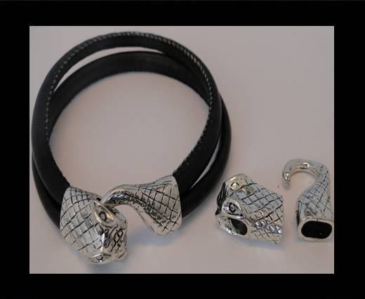 Buy Zamak magnetic clasp ZAML-74-10*6mm at wholesale prices
