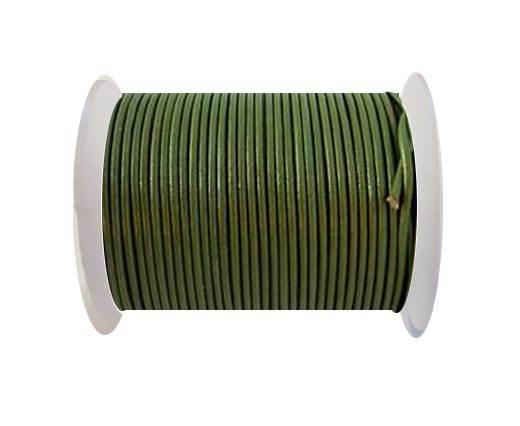 Round Leather Cord-1,5mm-M. Juniper
