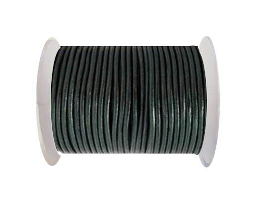 Round Leather Cord-1,5mm-M ocean