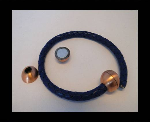 Zamak magnetic claps MGL-5-5MM-Powdered-Copper