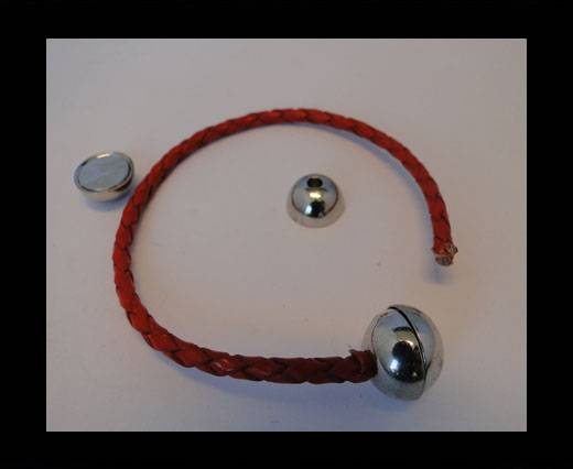 Buy Zamak magnetic claps MGL-5-7MM-Antique-Silver at wholesale prices
