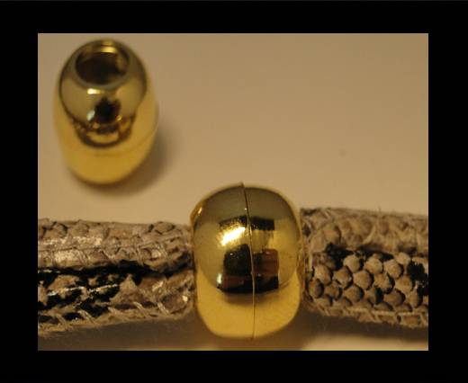 Buy Zamak magnetic claps MGL-5-7mm-Gold at wholesale prices