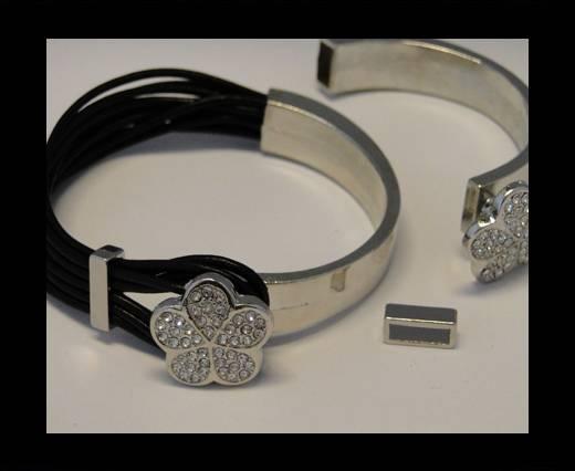 Half Cuff Bracelet Clasp MGL-84-8mmx4mm