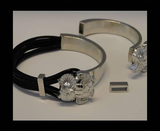Half Cuff Bracelet Clasp MGL-85-8mmx4 mm