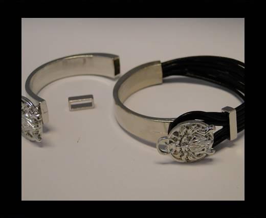Half Cuff Bracelet Clasp MGL-86- 8mmx4mm