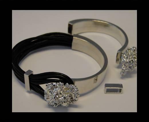 Half Cuff Bracelet Clasp MGL-87-8mmx4mm
