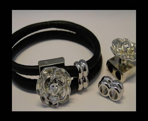 Half Cuff Bracelet Clasp MGL-90-5mm