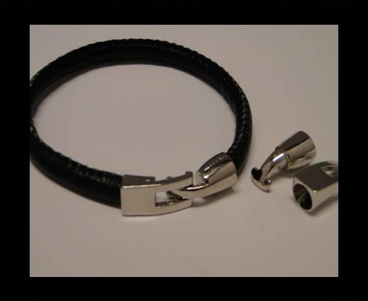 Zamak magnetic claps MGL-76-6,5mm