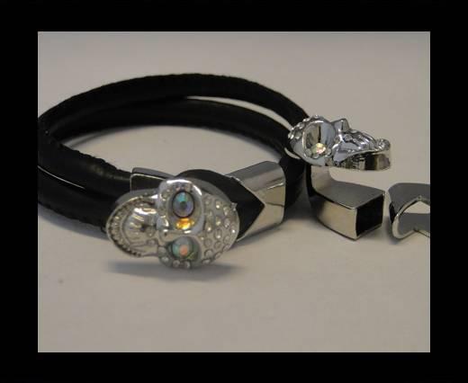 Zamak Half Bracelet Clasps MGL-62-10*5mm