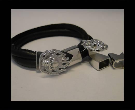 Zamak Half Bracelet Clasps MGL-66-10*5mm