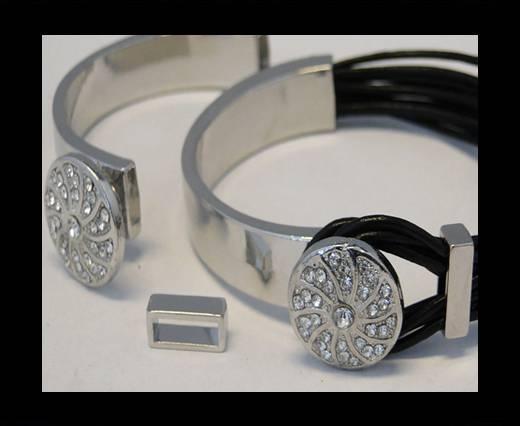 Half Cuff Bracelet Clasp MGL-81-8mmx5mm