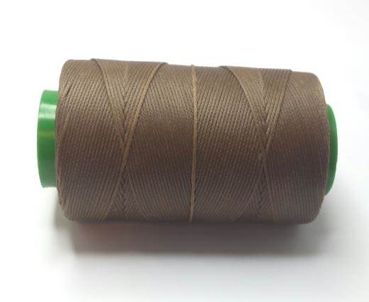 0.8mm-Nylon-Waxed-Thread-Medium Brown 9158
