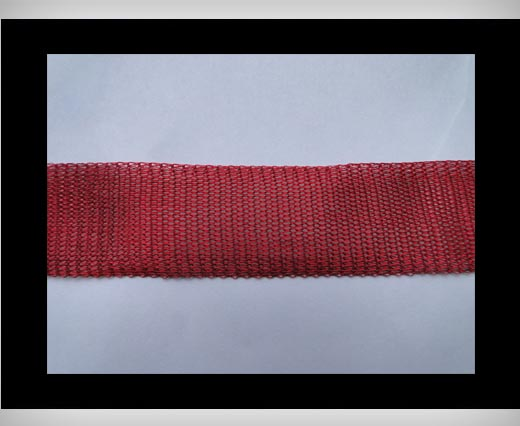 Mesh Wire Wine Red