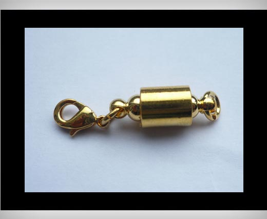 brass Magnetic clasp MG10-22mm-Gold