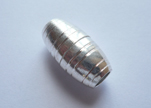Zamak magnetic claps MGL9-5mm-Silver