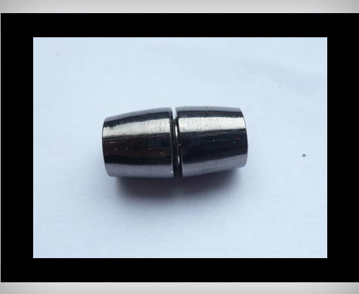 Zamak magnetic claps MGL8-6mm-Black