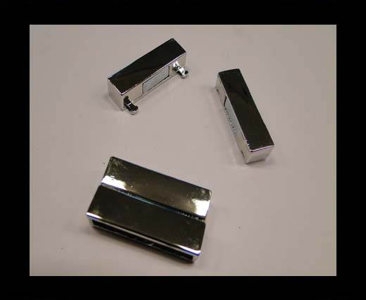 Buy Zamak magnetic claps MGL-109-35*4mm-YK at wholesale prices