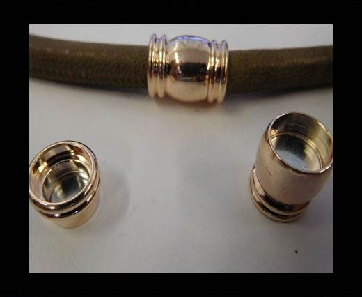 Zamak magnetic claps MGL-116-10MM-ROSE GOLD