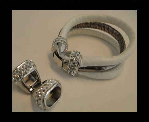 Buy Zamak magnetic claps MGL-143-12*7,5mm-silver at wholesale prices
