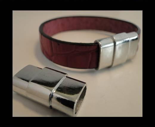 Zamak magnetic clasp MGL-145-10*4mm