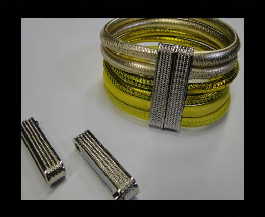 Zamak magnetic claps MGL-150-30*4,5mm