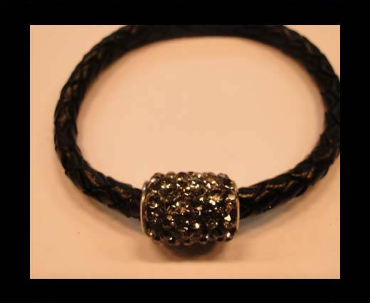 Buy Zamak magnetic claps MGL-151-6mm-black diamond at wholesale prices