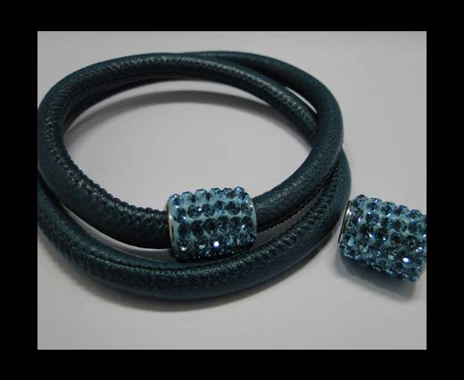 Zamak magnetic claps MGL-151-6mm-Turquoise