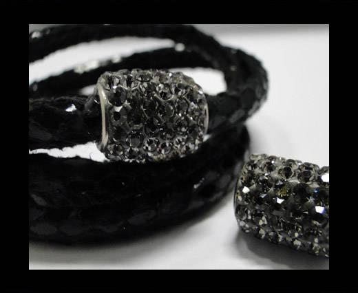 Zamak magnetic claps MGL-152-6mm-Black Diamond
