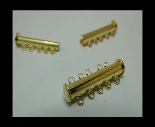 Multi Strand Clasps MGL-163-30mm-gold