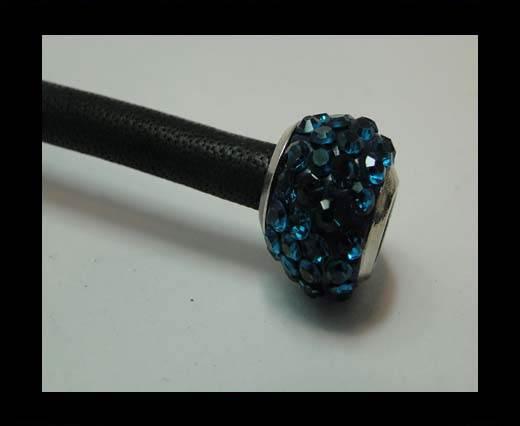 Zamak magnetic claps MGL-165-6mm-blue zircan