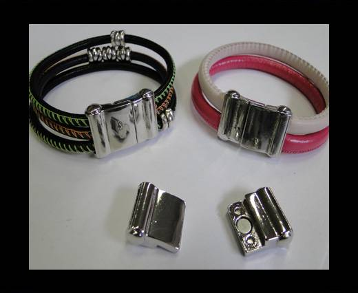 Zamak magnetic claps MGL-193-13*4mm