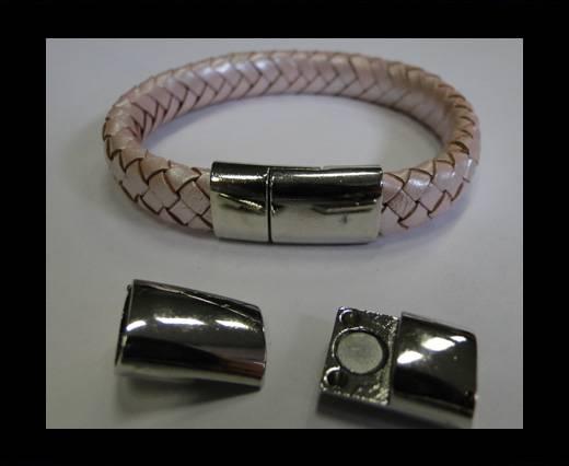 Zamak magnetic clasp MGL-197-10*5mm