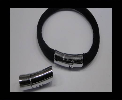 Zamak magnetic claps MGL-232-6mm Steel Silver