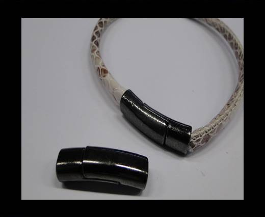 Zamak magnetic claps MGL-247 6*3mm Black