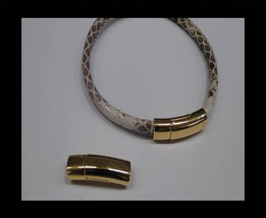 Zamak magnetic claps MGL-247-6*3mm Gold