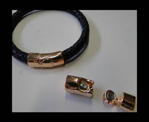 Zamak magnetic claps MGL-249-6MM-Rose Gold