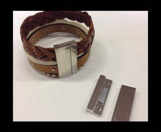 Buy Zamak magnetic claps MGL-260-33*3MM-Steel at wholesale prices