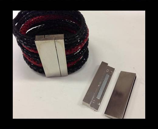 Zamak magnetic claps MGL-262-50*4MM-Steel