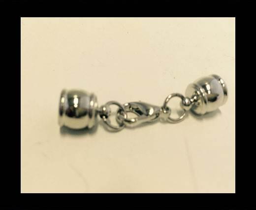 Zamak magnetic claps MGL-282-6mm-STEEL