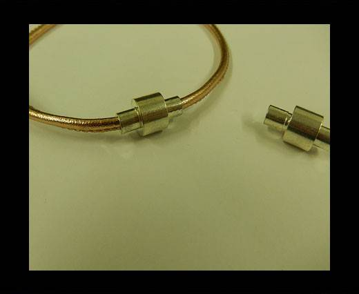 Zamak magnetic claps MGL-2-3MM-STEEL