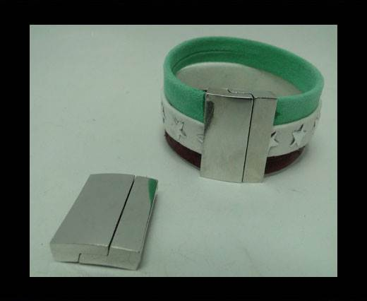 Zamak magnetic claps MGL-316-20X2,5mm-Steel