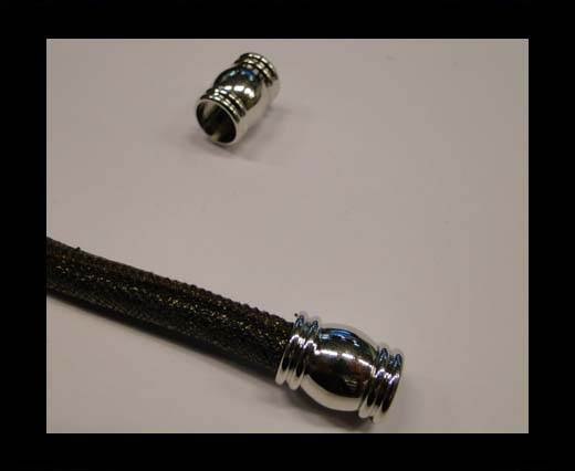 Zamak magnetic claps MGL-31-10mm-silver