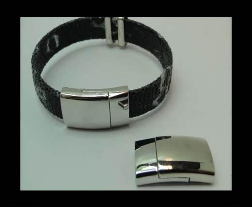 Zamak magnetic clasp MGL-324-10*3mm-STEEL